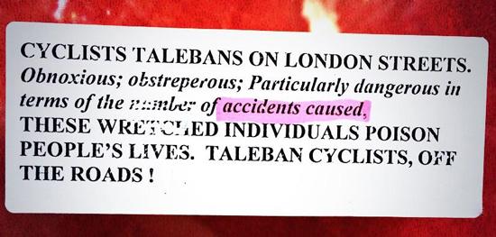 Cyclists-Talebans