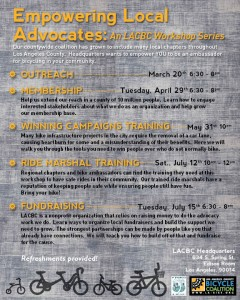 LACBC Empowerment Workshops