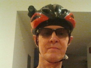 I may look like a helmet-cammed bike geek. But my glasses look good.