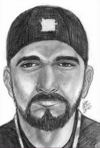 LASD sketch of the suspect
