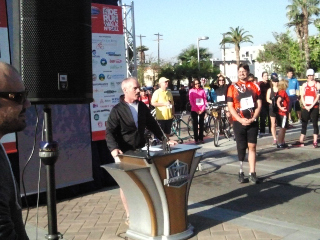 "Councilmember Mitch O'Farrell: ""Damien, you're changing the world."""