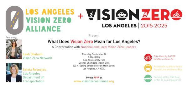 Vision Zero talk