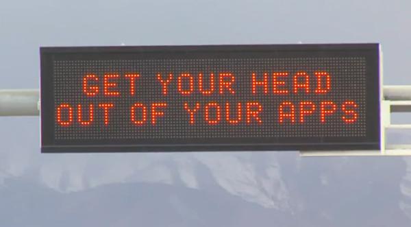Utah-Traffic-Sign
