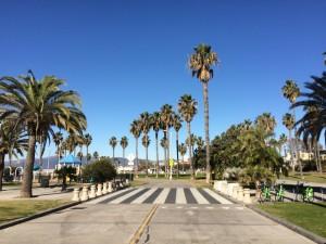 Bike path at Ocean Park