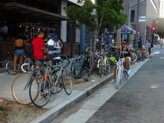 As usual, businesses that catered to CicLAvia participants were richly rewarded