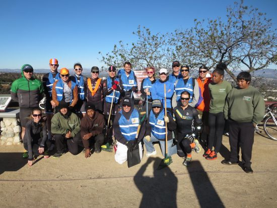 Participants in Mulholland clean-up